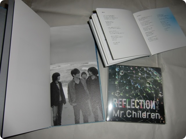 Mr.Children REFLECTION Naked Limited Edition Box set..
