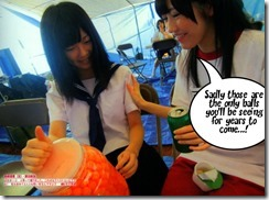 Mayuyu with some girl friendly advice.... =)