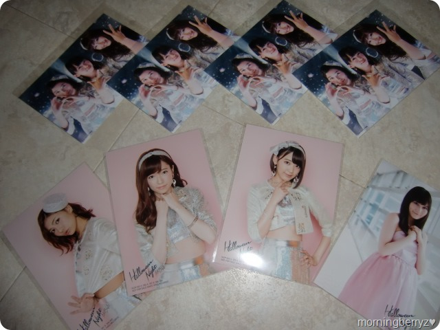 AKB48 Halloween Night first press external Neowing photos & randomly inserted member photos...