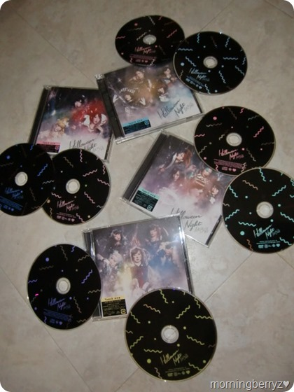 AKB48 Halloween Night singles types A,B,C & D
