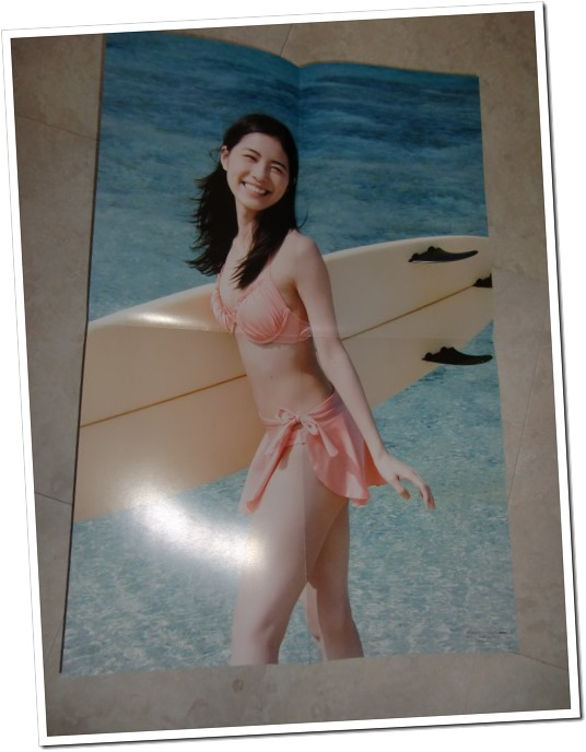 Matsui Jurina 1st shashinshuu Jurina two-sided poster..