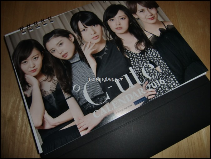 C-ute 2016 desk top calendar