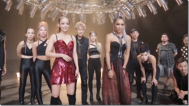 Crystal Kay Feat. Amuro Namie in REVOLUTION making... (14)