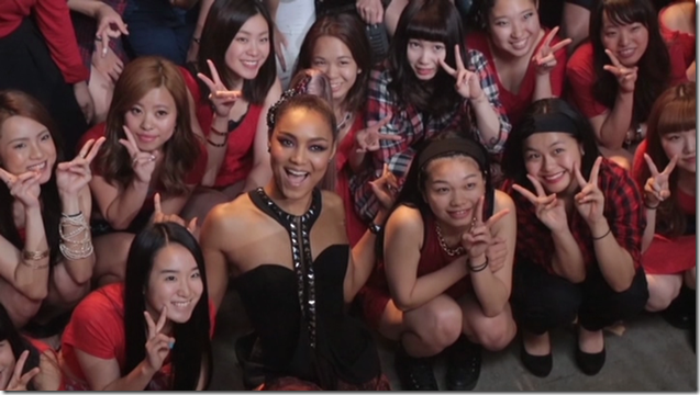 Crystal Kay Feat. Amuro Namie in REVOLUTION making... (19)