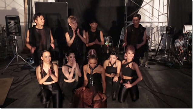 Crystal Kay Feat. Amuro Namie in REVOLUTION making... (21)