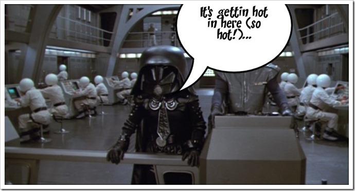Dark Helmet say...