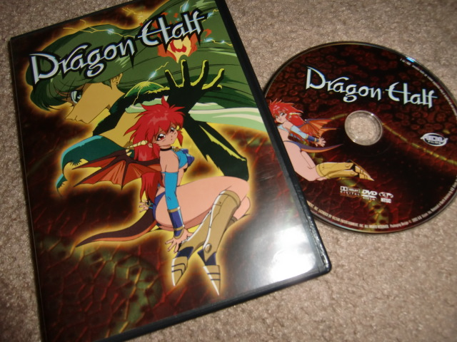 Dragon Half DVD