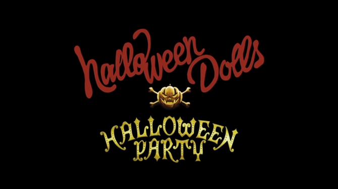 Halloween Dolls in Halloween Party (Dance V) (2)