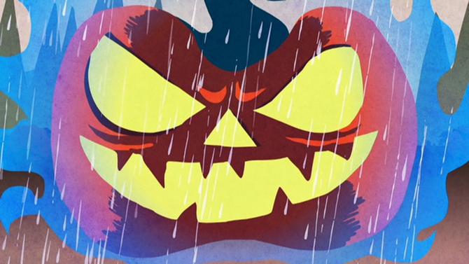 Halloween Dolls in Halloween Party (mv) (6)