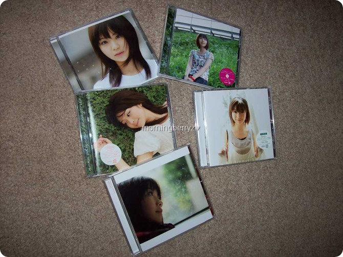 My Akiyama Nana collection during the summer of 2008!
