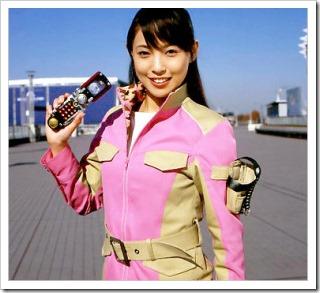 Suenaga Haruka as Bouken Pink!