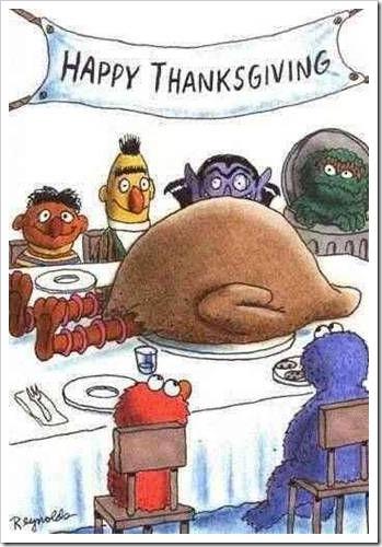 A Big Bird Thanksgiving....