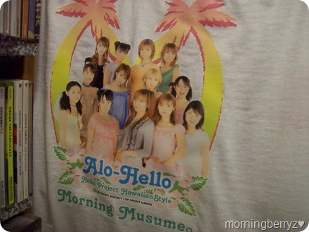 Alo-Hello Hello! Project Hawaiian Style Morning Musume T-shirt