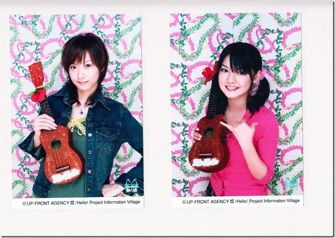 Hello! Project Information Village photo sets (Kamei binder) (12)