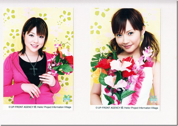 Hello! Project Information Village photo sets (Kamei binder) (38)