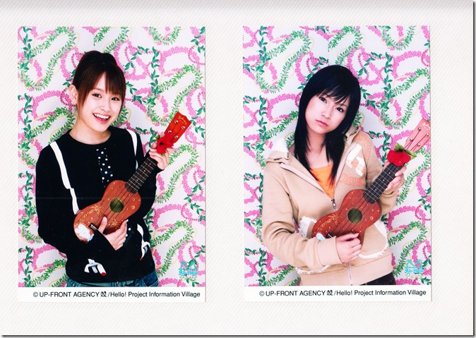 Hello! Project Information Village photo sets (Kamei binder) (3)