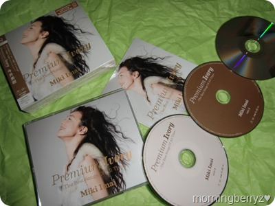 Imai Miki -The Best Songs of All Time- LE with 2CD & DVD version