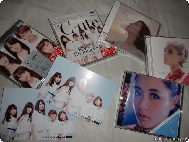 New singles from C-ute, Sakai Noriko and Ohara Sakurako...
