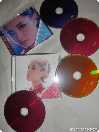 Ohara Sakurako LE singles Kimi wo wasurenaiyo types A & B
