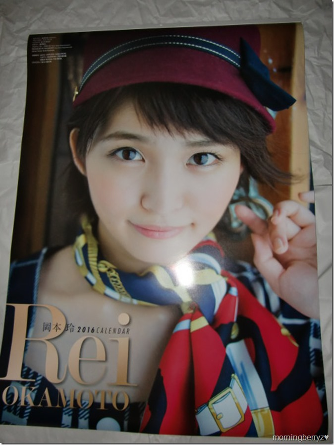 Okamoto Rei 2016 wall calendar (1)