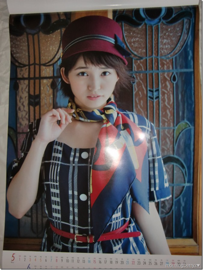 Okamoto Rei 2016 wall calendar (4)