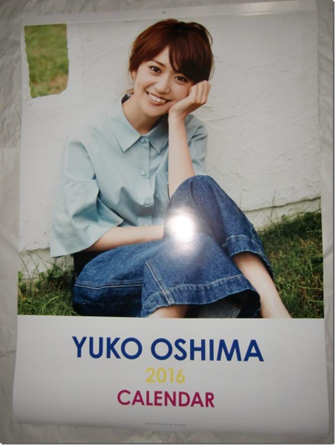 Oshima Yuko 2016 wall calendar (1)