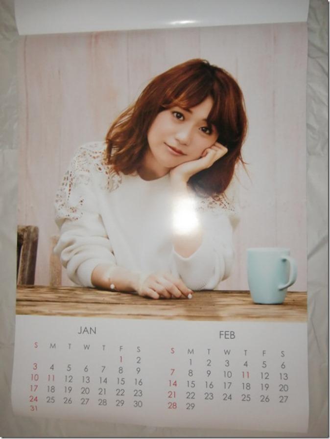 Oshima Yuko 2016 wall calendar (2)