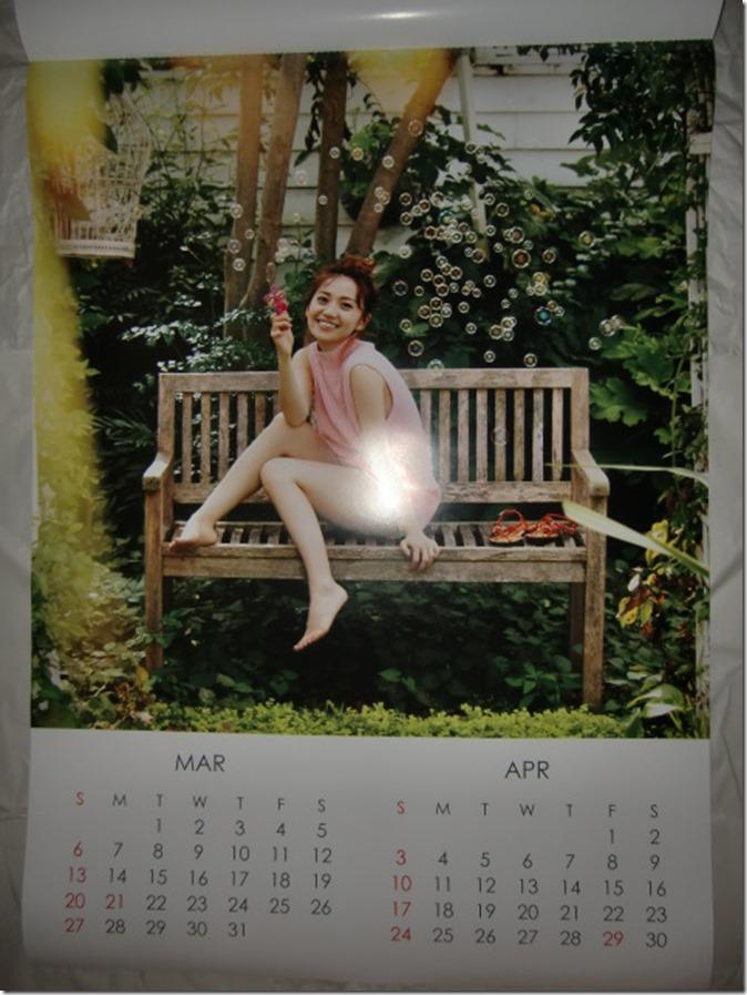Oshima Yuko 2016 wall calendar (3)