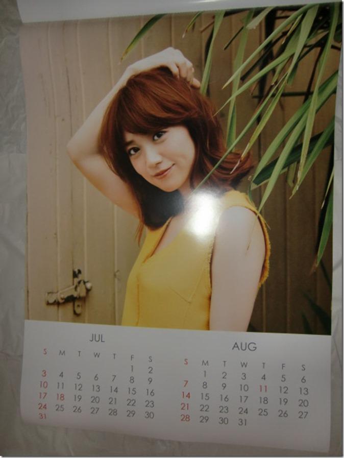 Oshima Yuko 2016 wall calendar (5)
