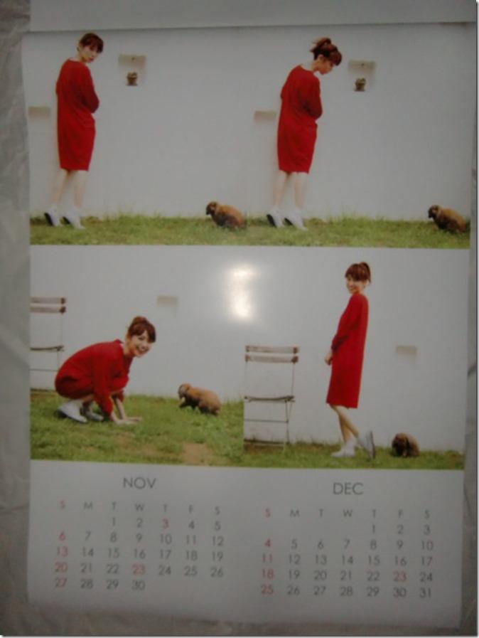 Oshima Yuko 2016 wall calendar (7)