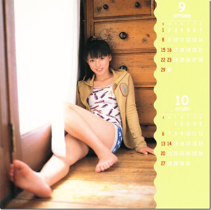 Suenaga Haruka 2002 calendar (6)