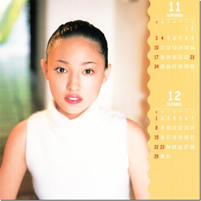 Suenaga Haruka 2002 calendar (7)