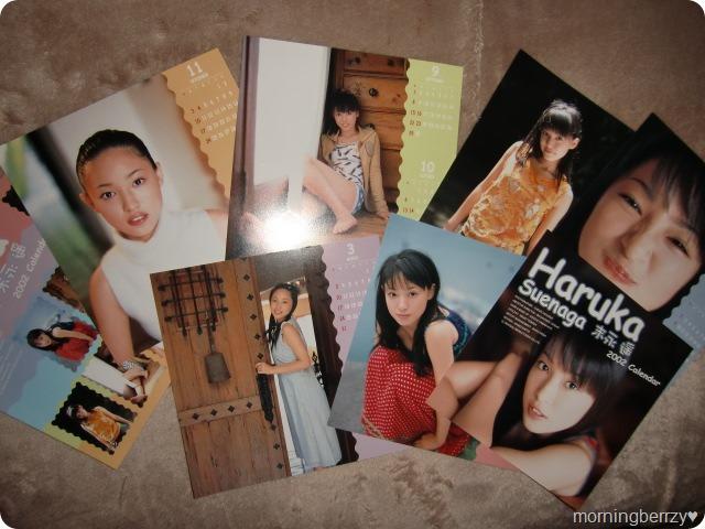 Suenaga Haruka 2002 calendar