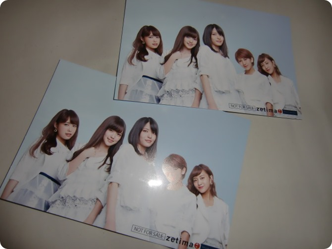 C-ute extras!!!! (postcards)