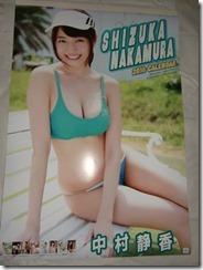Nakamura Shizuka 2016 wall calendar (1)