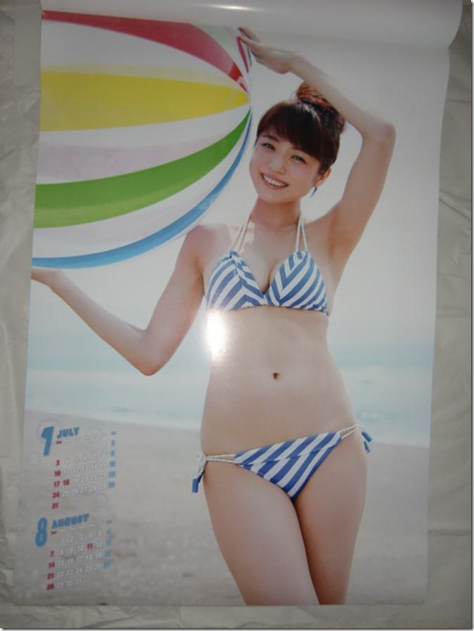 Nakamura Shizuka 2016 wall calendar (5)