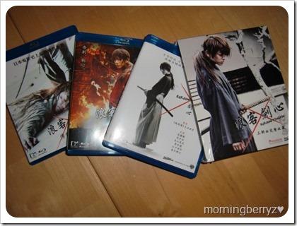 Rurouni Kenshin trilogy!!!!
