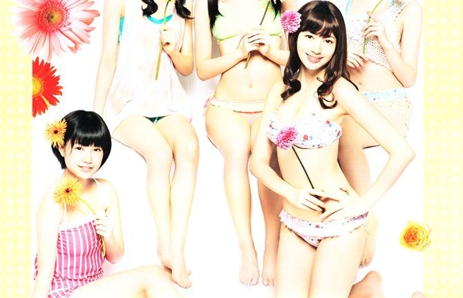 AKB48 2014 Official Calendar wall scroll (2)