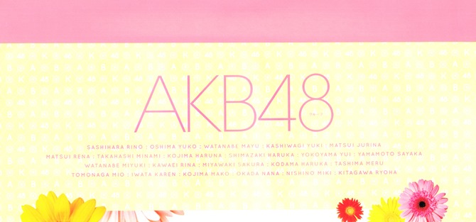 AKB48 2014 Official Calendar wall scroll (9)