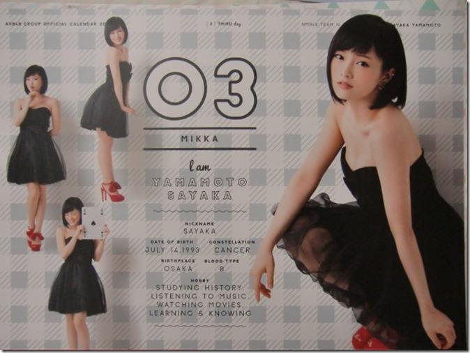 AKB48 Official 2016 Calendar (14)