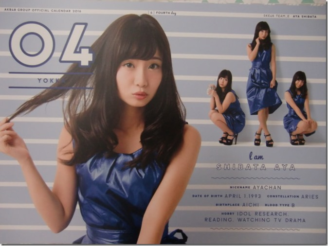 AKB48 Official 2016 Calendar (15)