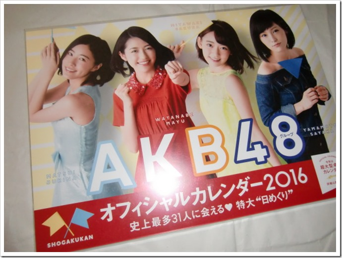 AKB48 Official 2016 Calendar (1)