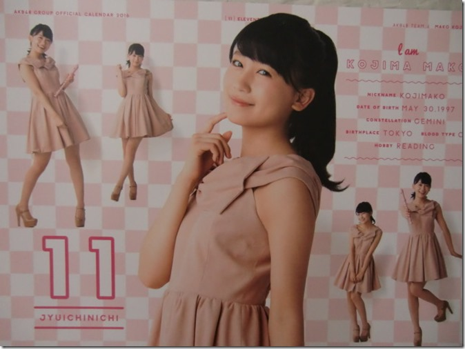 AKB48 Official 2016 Calendar (22)
