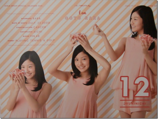 AKB48 Official 2016 Calendar (23)