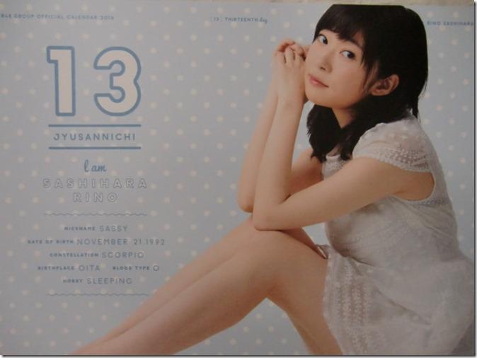 AKB48 Official 2016 Calendar (24)