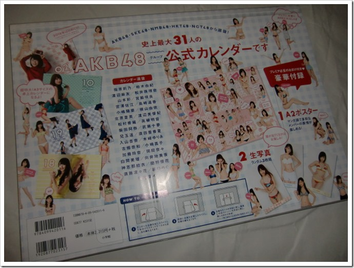 AKB48 Official 2016 Calendar (2)