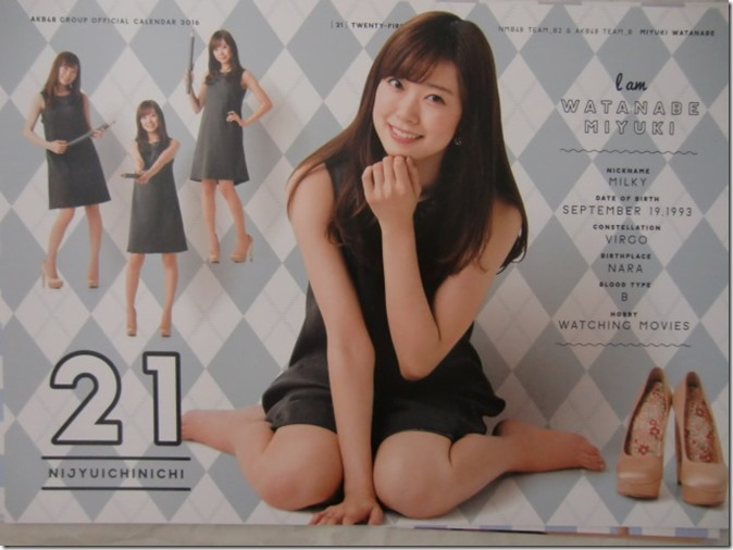 AKB48 Official 2016 Calendar (32)