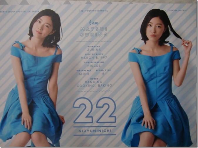 AKB48 Official 2016 Calendar (33)