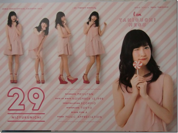 AKB48 Official 2016 Calendar (40)