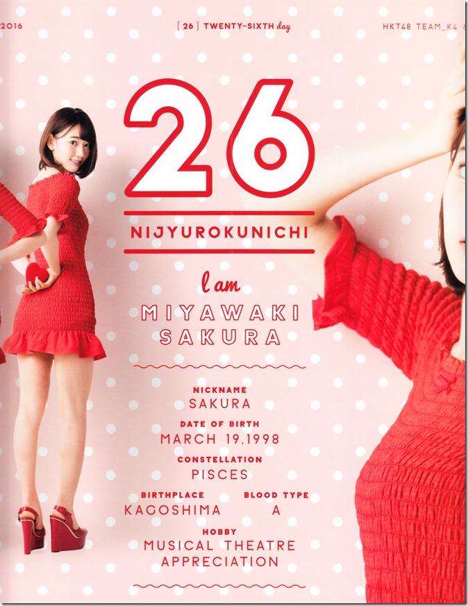 AKB48 Official 2016 Calendar (8)